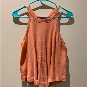Bright Orange Tank Top